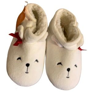 🆕 Gymboree Bear Slippers - Girl's Size 11/12